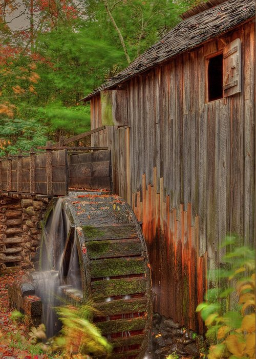 2010 Greeting Card featuring the photograph Cable Mill II by Charles Warren