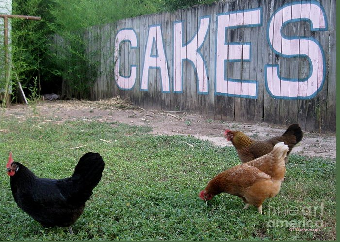 Austin Greeting Card featuring the photograph Cakes by Kim Yarbrough