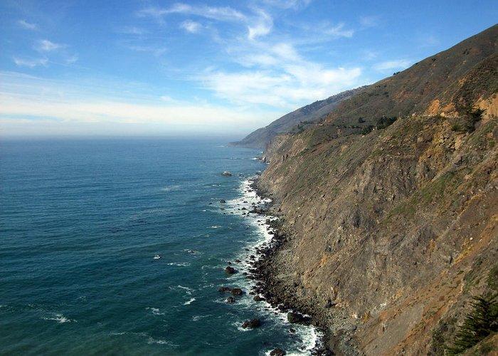 Coast Greeting Card featuring the photograph California Coast by Joshua Benk