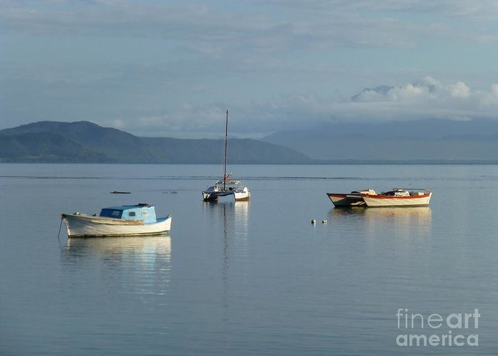 Port Douglas Greeting Card featuring the photograph Calm Day At Port Douglas by Nadine Kelly