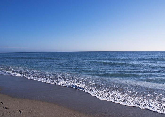 Waves calm