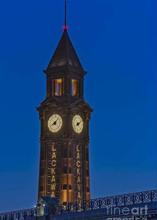 Erie Lackawana Greeting Card featuring the photograph Can I Have The Time Please by Susan Candelario