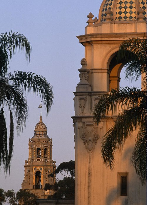 Outdoors Greeting Card featuring the photograph Casa Del Prado Theatre In Balboa Park by Phil Schermeister