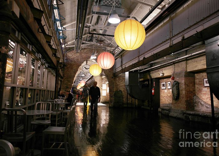 New York Greeting Card featuring the photograph Chelsea Market by David Bearden