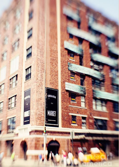 Chelsea Market Greeting Card featuring the photograph Chelsea Market New York City by Kim Fearheiley
