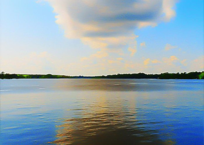 Virginia Greeting Card featuring the photograph Chickahominy River Virginia by Jeremy Parks