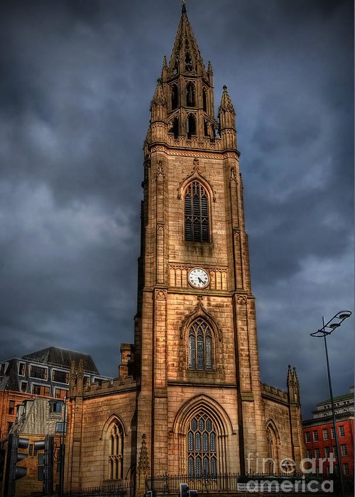 Yhun Suarez Greeting Card featuring the photograph Church Of Our Lady - Liverpool by Yhun Suarez