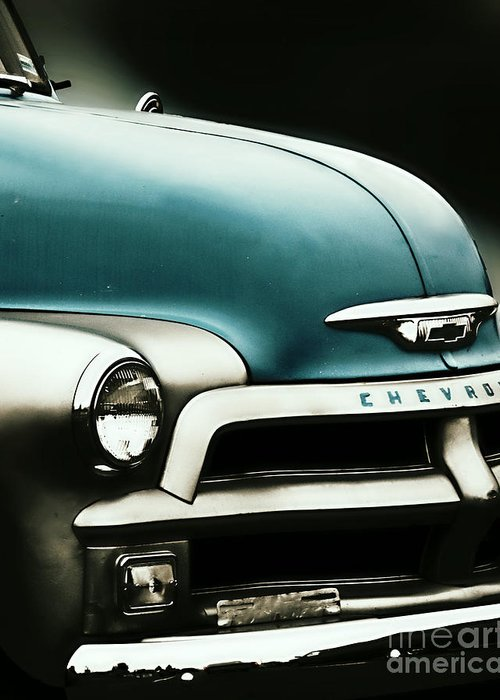 Classic Greeting Card featuring the photograph Classic Chevy by Emily Kelley