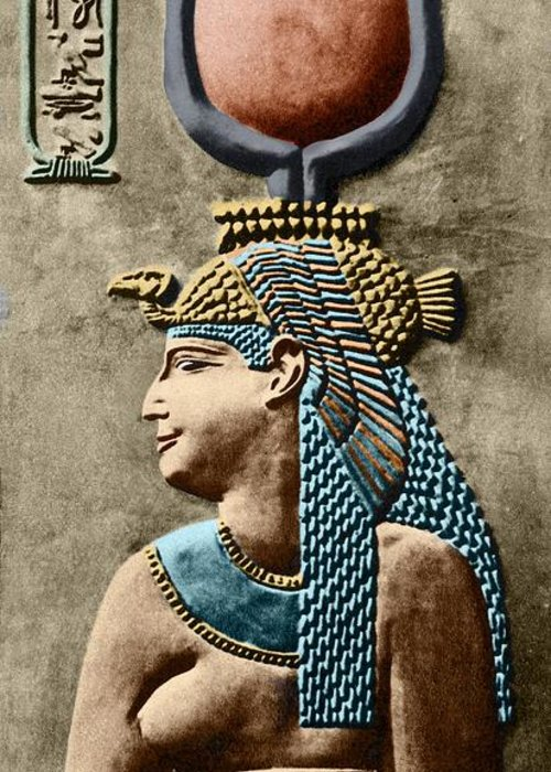 Cartouche Greeting Card featuring the photograph Cleopatra Vii by Sheila Terry