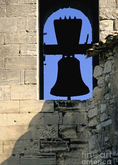 France Greeting Card featuring the photograph Clocher De Lourmarin Village Du Luberon by Bernard Jaubert