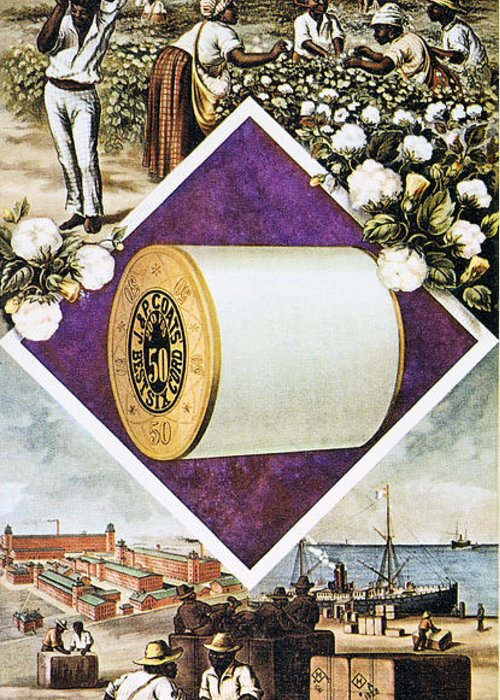 1880 Greeting Card featuring the photograph Coats Thread, C1880 by Granger