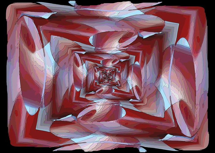 Cocoon Greeting Card featuring the digital art Cocoon by Tim Allen