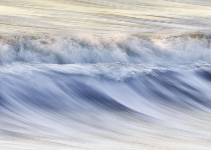 Color Greeting Card featuring the photograph Color Wave IIi by Rob Travis