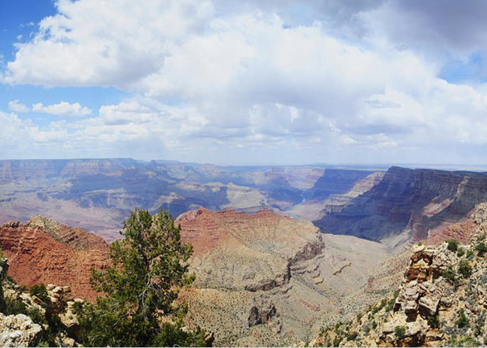 Arizona Greeting Card featuring the photograph Crand Canyon by Patrick Warneka
