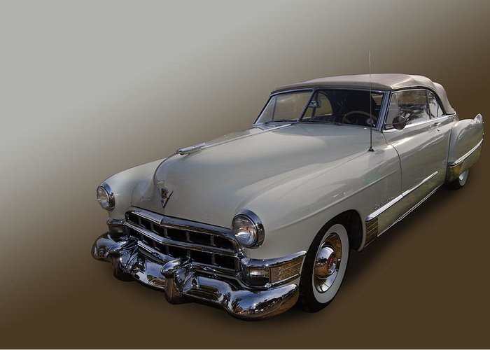 Caddy Greeting Card featuring the photograph Cream Caddy by Bill Dutting