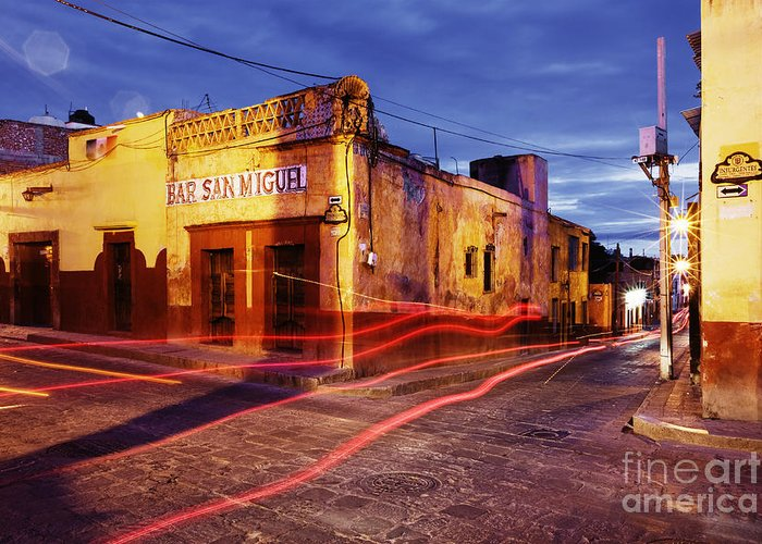 Architecture Greeting Card featuring the photograph Crossroads by Jeremy Woodhouse