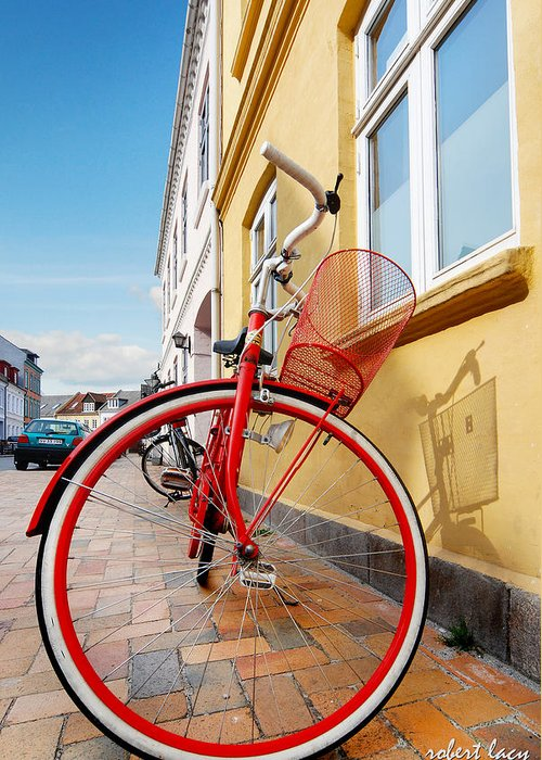 Bicycle Greeting Card featuring the photograph Danish Bike by Robert Lacy