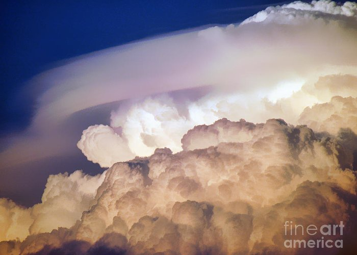 Clouds Greeting Card featuring the photograph Dark Clouds - 2 by Graham Taylor