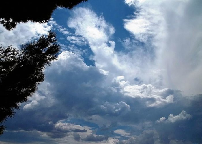 Skyscape Greeting Card featuring the photograph Deep Skies by Glenn McCarthy Art and Photography