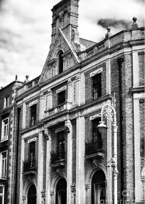 D'olier Chambers Greeting Card featuring the photograph D'olier Chambers by John Rizzuto