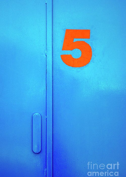 Blue Doors Greeting Cards