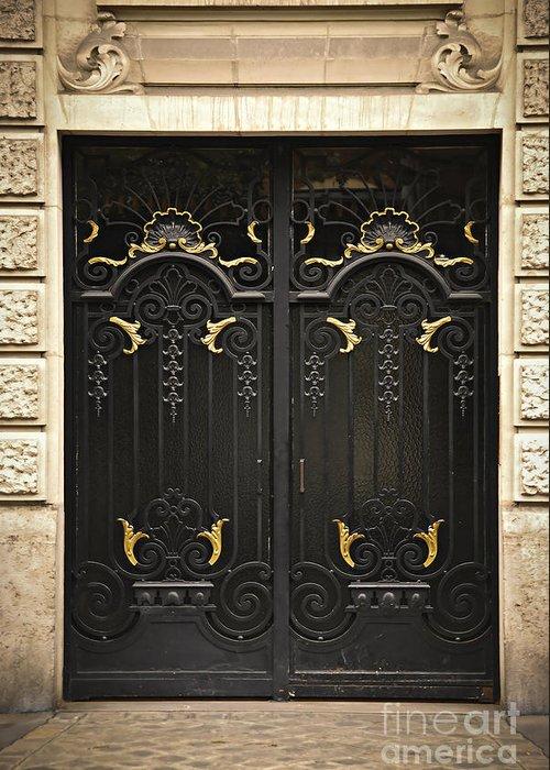 Door Greeting Card featuring the photograph Doors by Elena Elisseeva