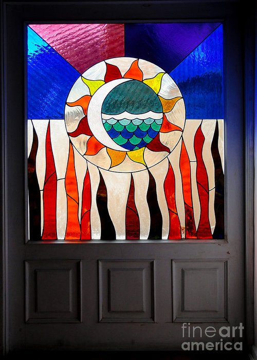 Door Greeting Card featuring the photograph Doorway Of Choice by Al Bourassa