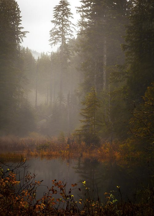 Fall Greeting Card featuring the photograph Dream Of Autumn by Mike Reid