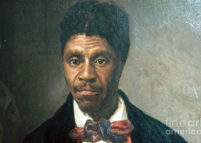 History Greeting Card featuring the photograph Dred Scott, African-american Hero by Photo Researchers