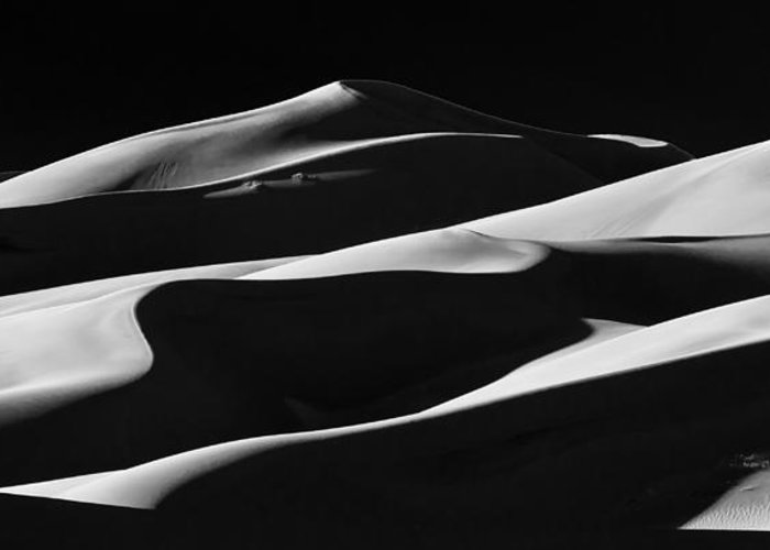 Colorado Greeting Card featuring the photograph Dune 5 by Jennifer Litchfield