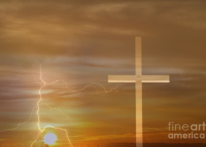 Easter Greeting Card featuring the photograph Easter Sunrise by James BO Insogna