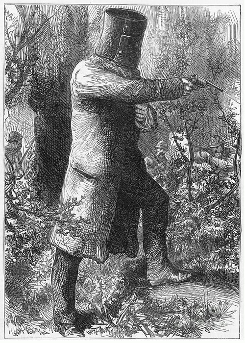 1880 Greeting Card featuring the photograph Edward (ned) Kelly by Granger
