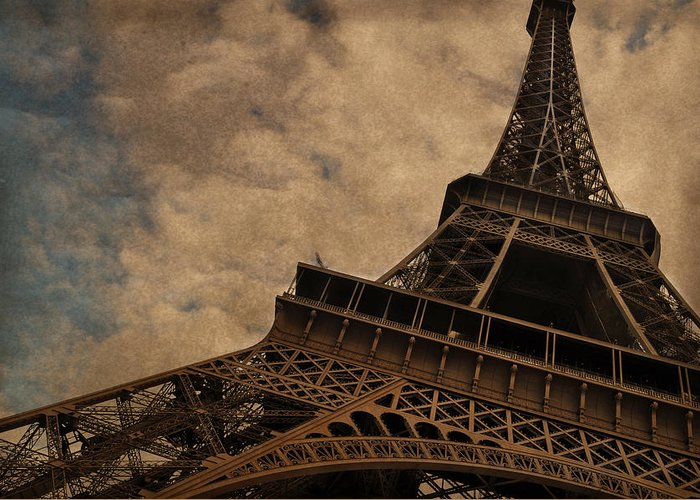 Eiffel Tower Photographs Greeting Cards