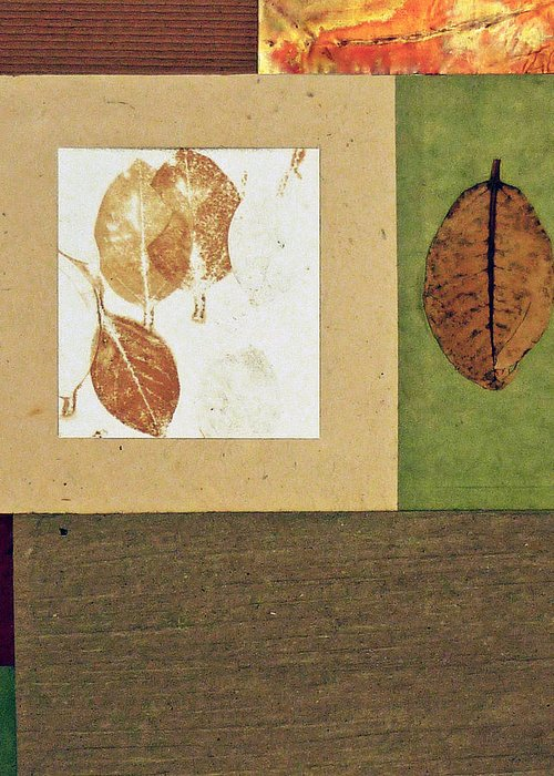 Nature Greeting Card featuring the mixed media Essential Nature Copperhead by Phillip Jaeger
