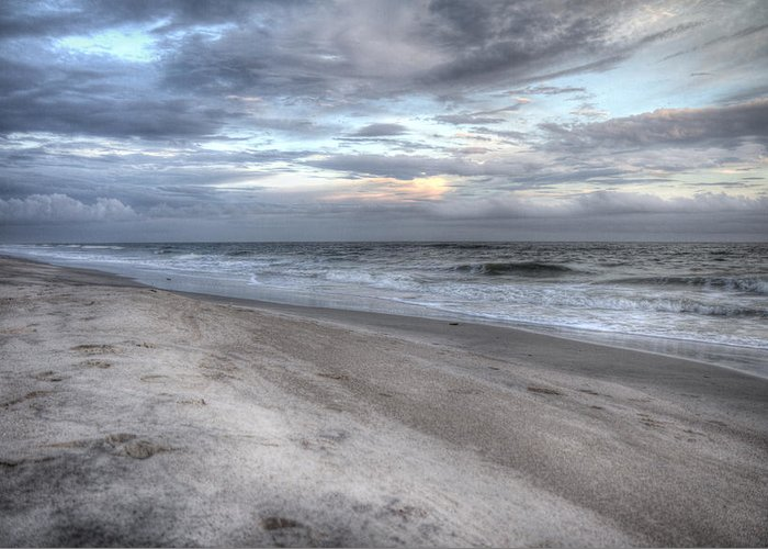 Topsail Greeting Card featuring the photograph Evening Paradise by Betsy Knapp