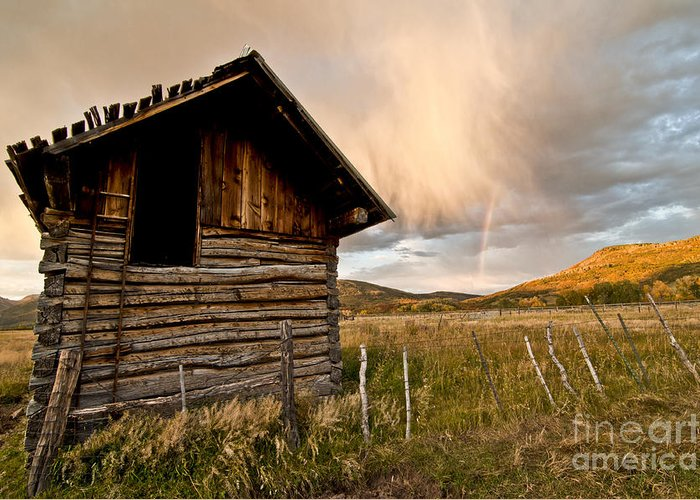 Durango Greeting Card featuring the photograph Evening Storm by Jeff Kolker