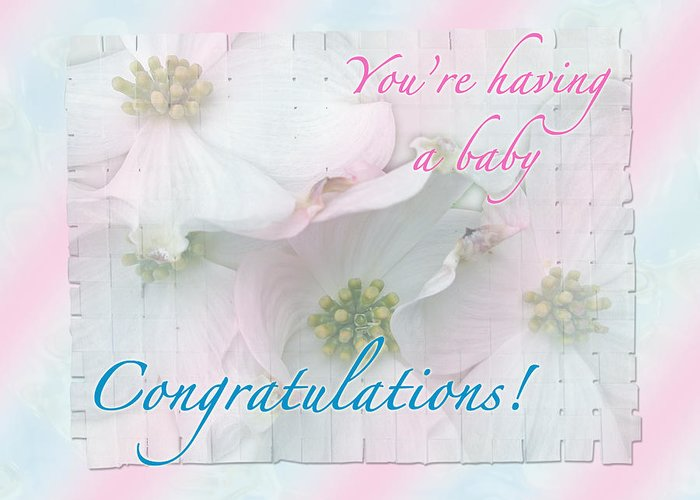 expecting baby congratulations card greeting card for sale by mother