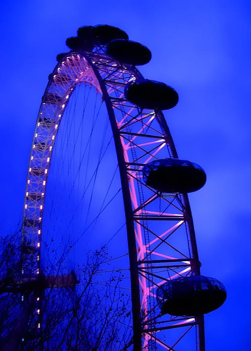 Eye Greeting Card featuring the photograph Eye Of London by Roberto Alamino