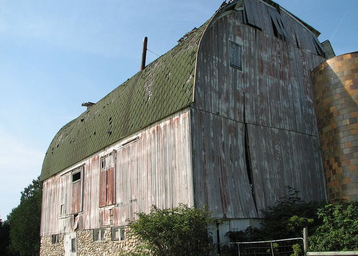 Barn Greeting Card featuring the photograph Family Barn by Michelle Shull