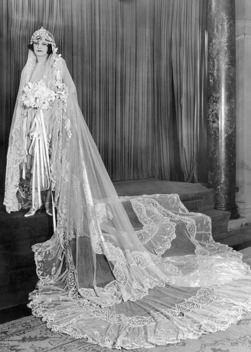 -weddings & Gowns- Greeting Card featuring the photograph Film: Melody Girl, 1937 by Granger