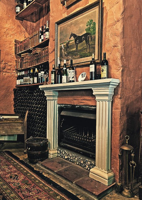 Africa Greeting Card featuring the photograph Fireplace by Benjamin Matthijs