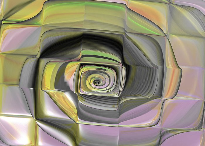 Digital Greeting Card featuring the digital art Fit Into The Box by Deborah Benoit