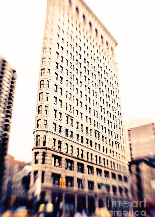 Nyc Greeting Card featuring the photograph Flatiron Building Nyc by Kim Fearheiley