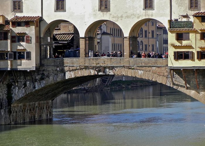 Florence Greeting Card featuring the photograph Florence II by David Ritsema