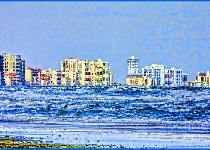 Florida Greeting Card featuring the photograph Florida Turbulence by Deborah Benoit
