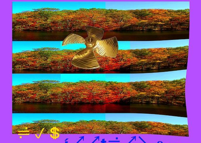 Digital Stuff Greeting Card featuring the photograph Foot Long Distort by Lee Plate
