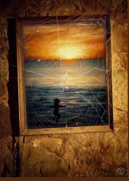 Digital Art Greeting Card featuring the digital art Forgotten Summer by Gun Legler
