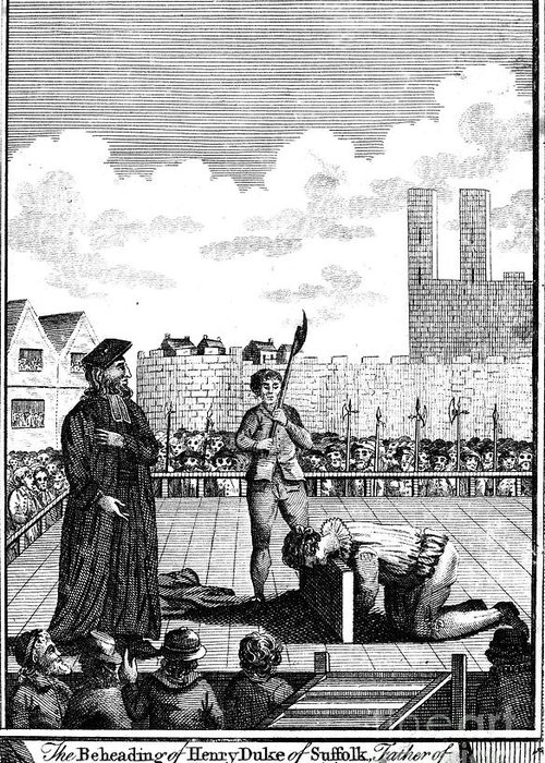 1554 Greeting Card featuring the photograph Foxes Book Of Martyrs by Granger