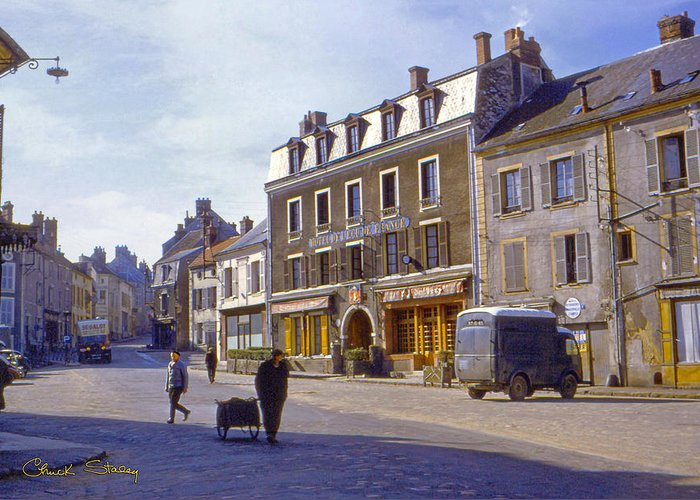 France Greeting Card featuring the photograph French Village by Chuck Staley