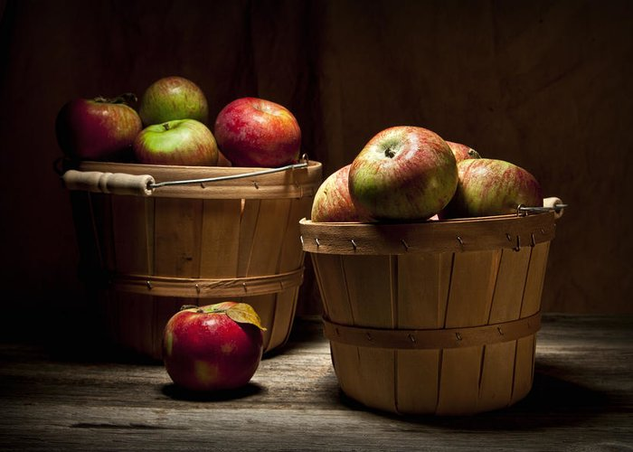 Apple Greeting Card featuring the photograph Fresh From The Orchard IIi by Tom Mc Nemar